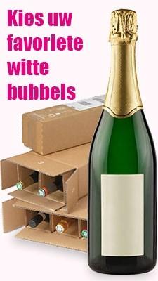 Mousserend wit wijnpakketten