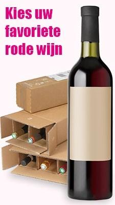 Rode wijnpaketten